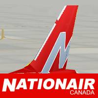 Nationair Red 1986